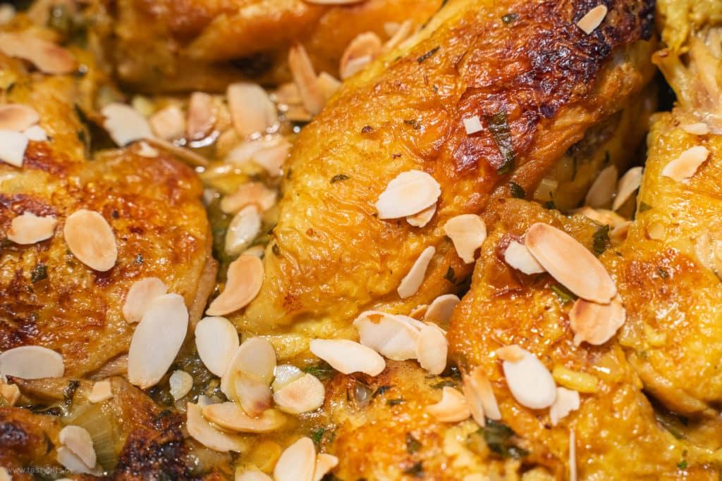 Hähnchen mit Salzzitrone geschmort