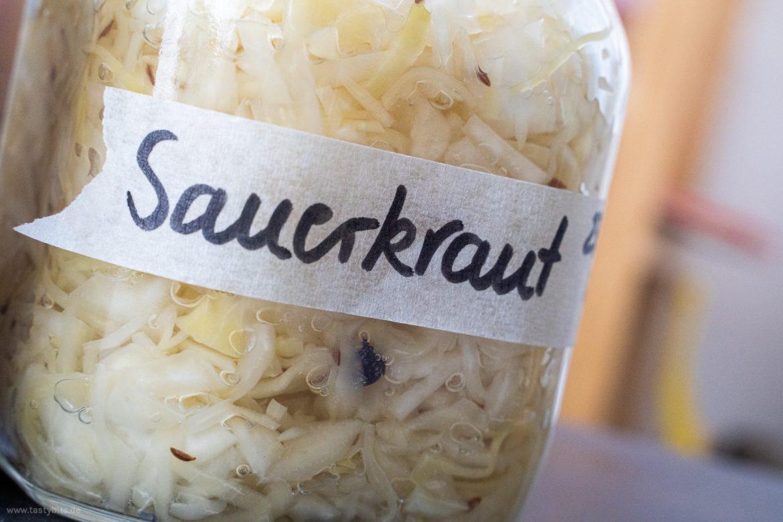 Sauerkraut selber machen Rezept