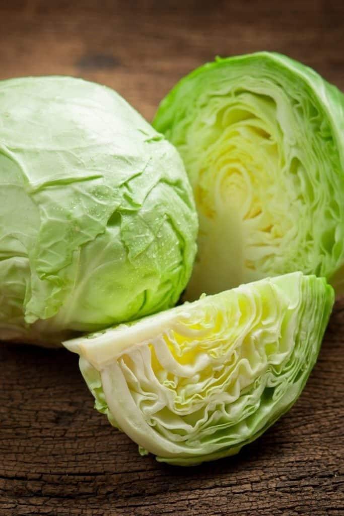 Weisskohl für Sauerkraut