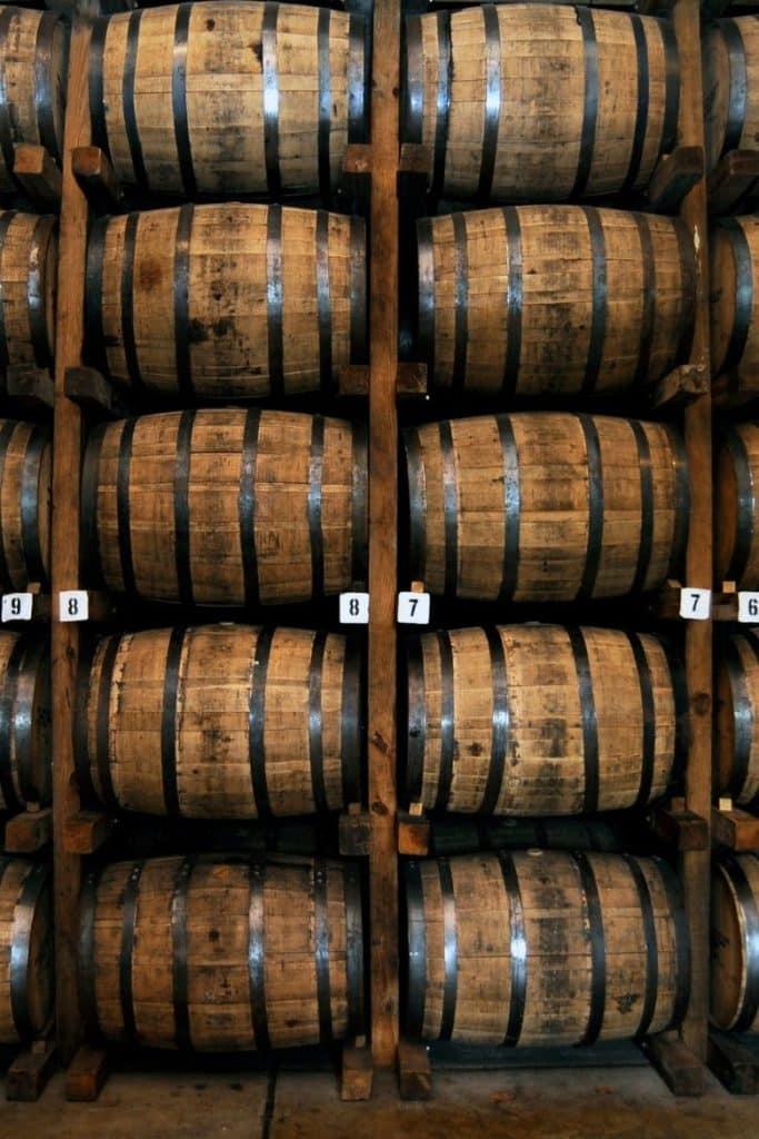 Rye Whisky Fässer