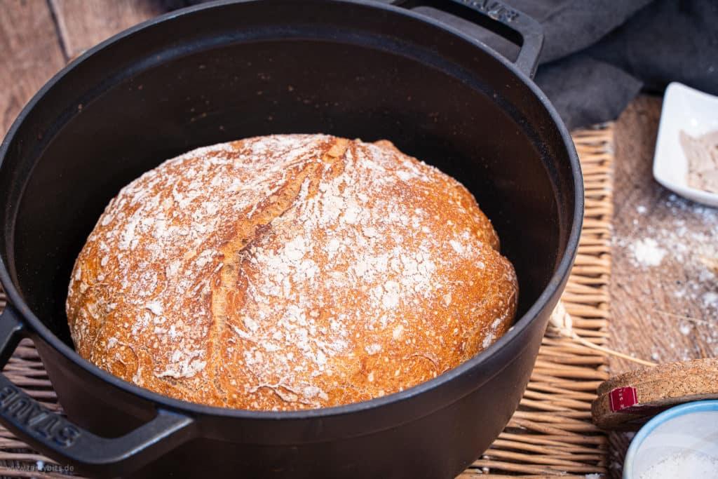 Brot aus dem Topf selber backen