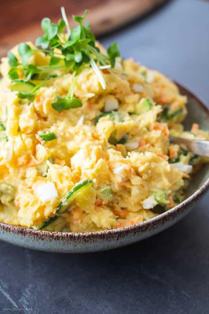 Kartoffelsalat mit japanischer Mayo